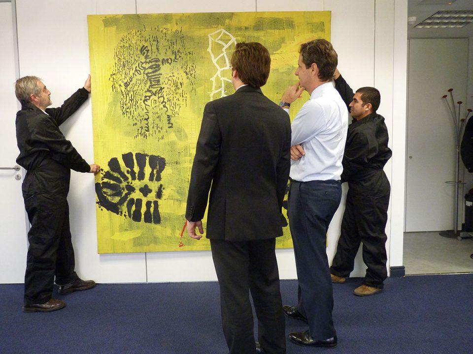 Proyecto de arte en Arcano Asesores
