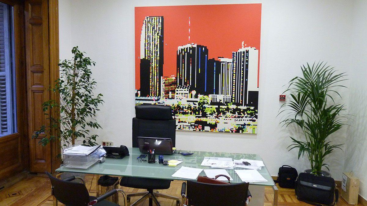 Proyecto de arte en Keytrade AG