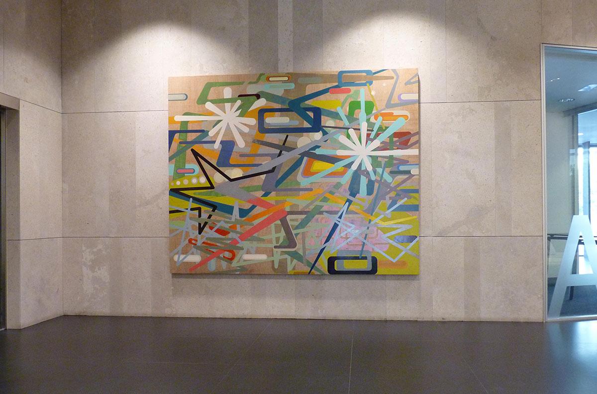 Proyecto de arte en Linklaters SLP